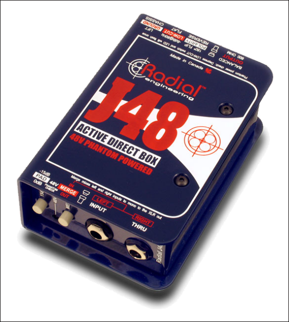 Radial J48 - Active Direct Box
