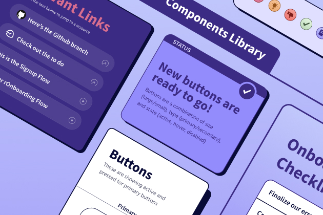 A free component library to help you effectively communicate your designs remotely