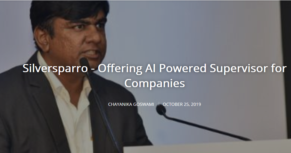 Silversparro offers AI powered supervisor for manufacturing companies