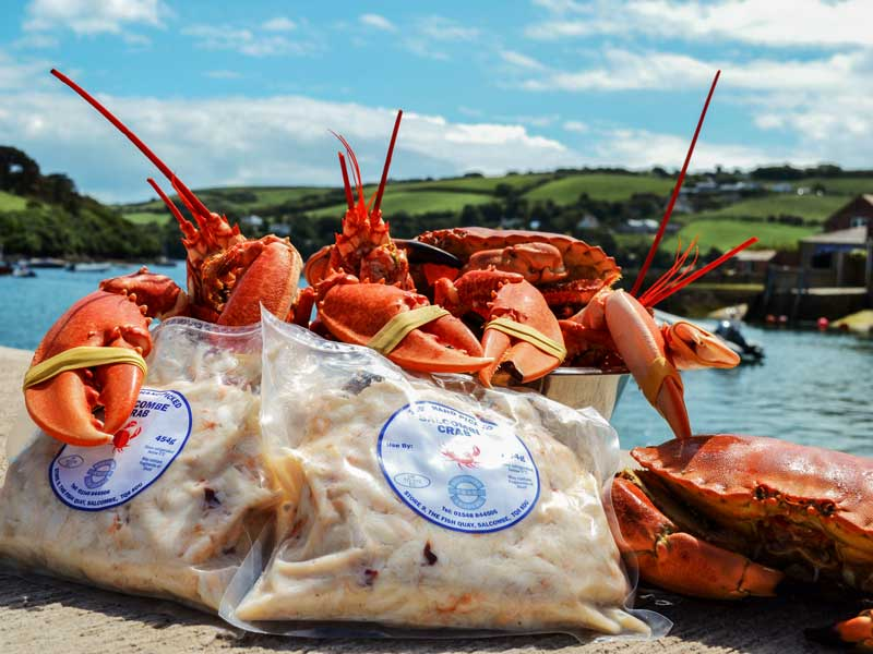 Crab Shed Salcombe: delicious, fresh crab meat to discerning customers across South Devon