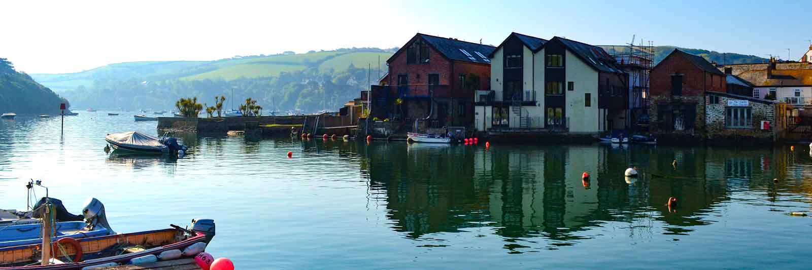 Salcombe summer morning, seen from the CrabShed