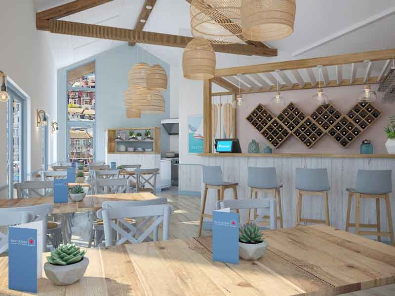 The Crab Shed Salcombe - a light and stylish yet relaxed seafood restaurant