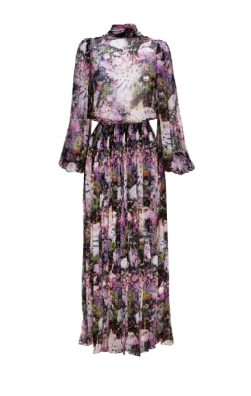 MONTMARTRE FLOWER TIE DRESS