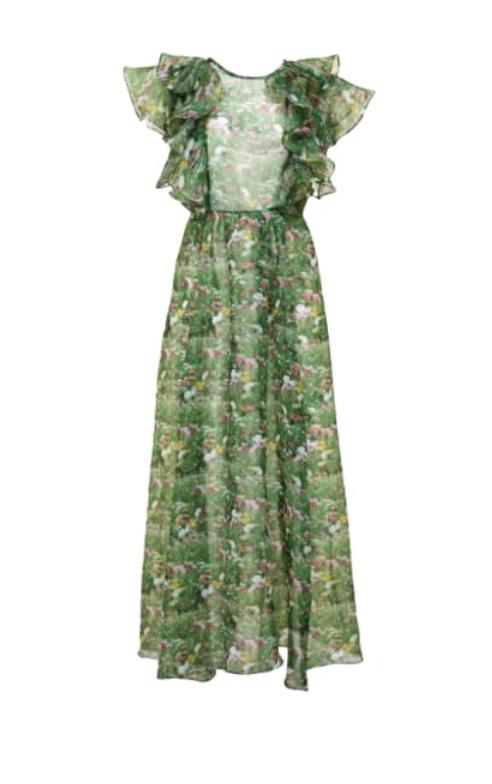 LACY GARDEN MAXI DRESS