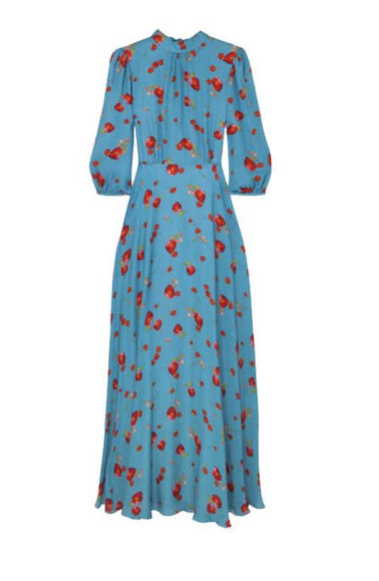 CAROLINE SILK DRESS