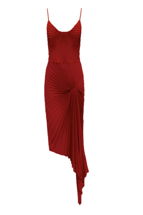 RED MINI DRESS SLIP