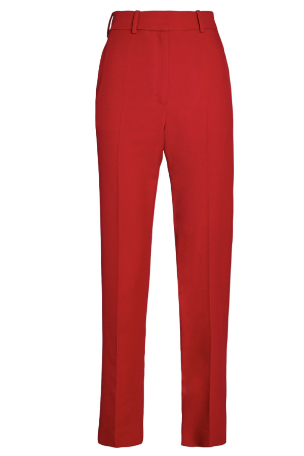 RED SUIT TROUSER