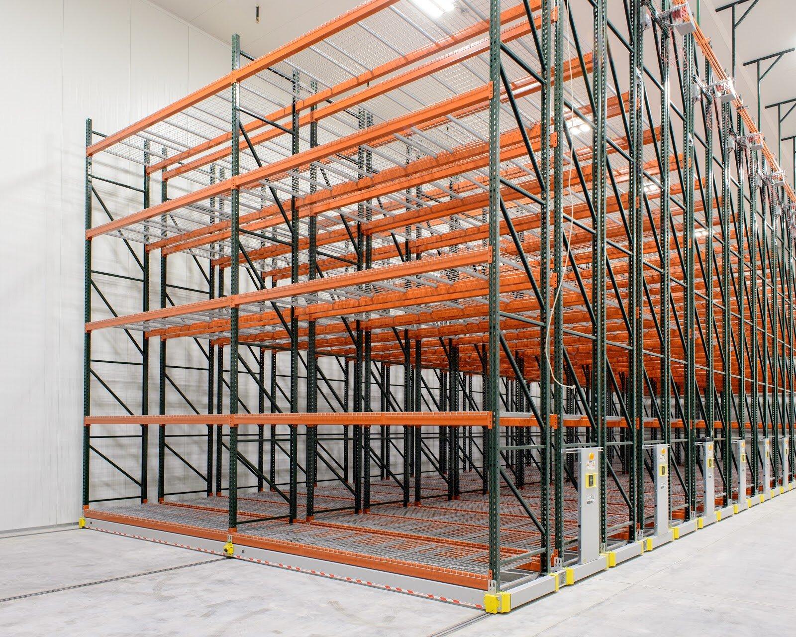Industrial Freezer High-density Mobile Storage System.jpg
