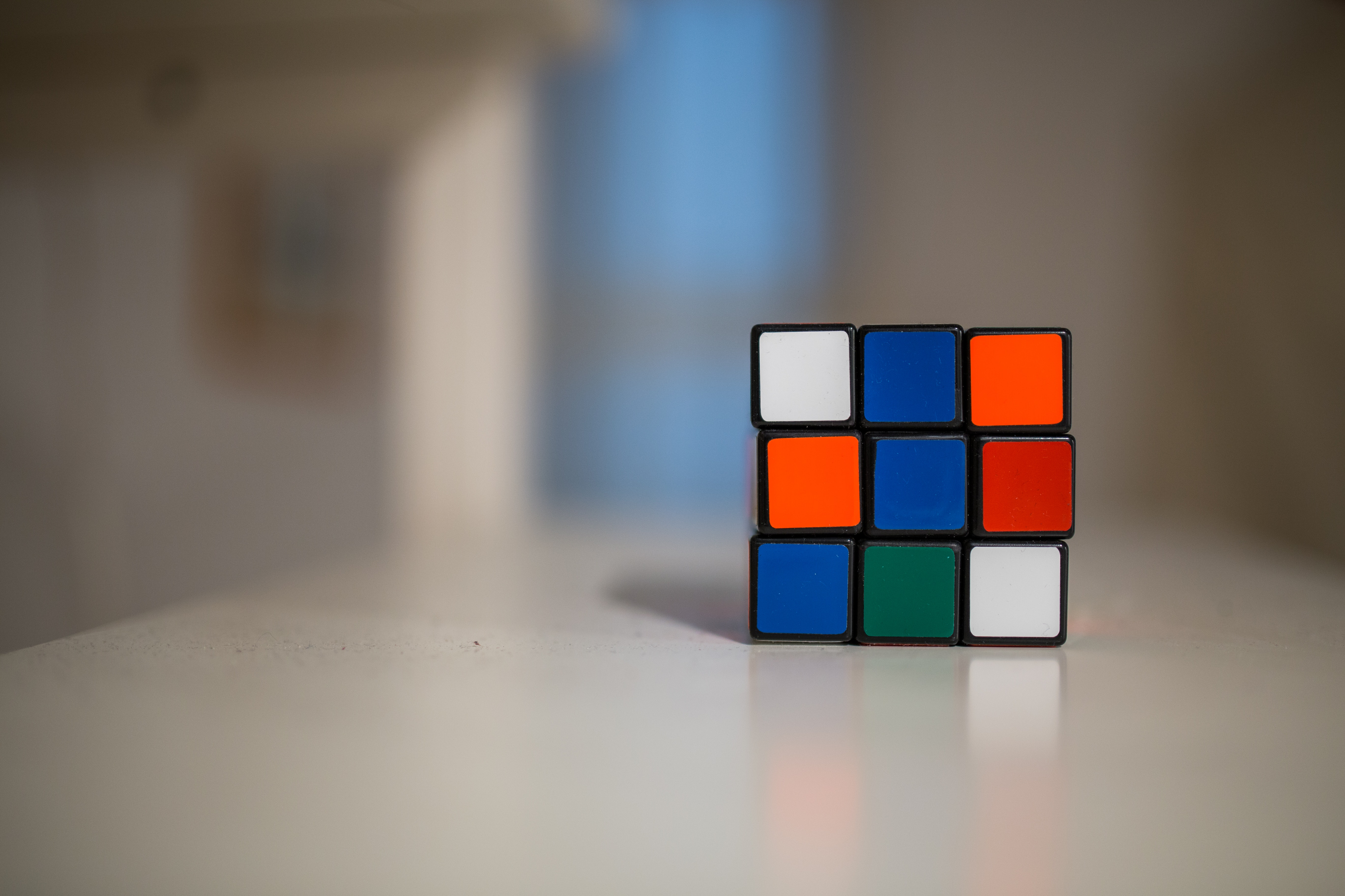 Personality tests for jobs: Rubik's cube