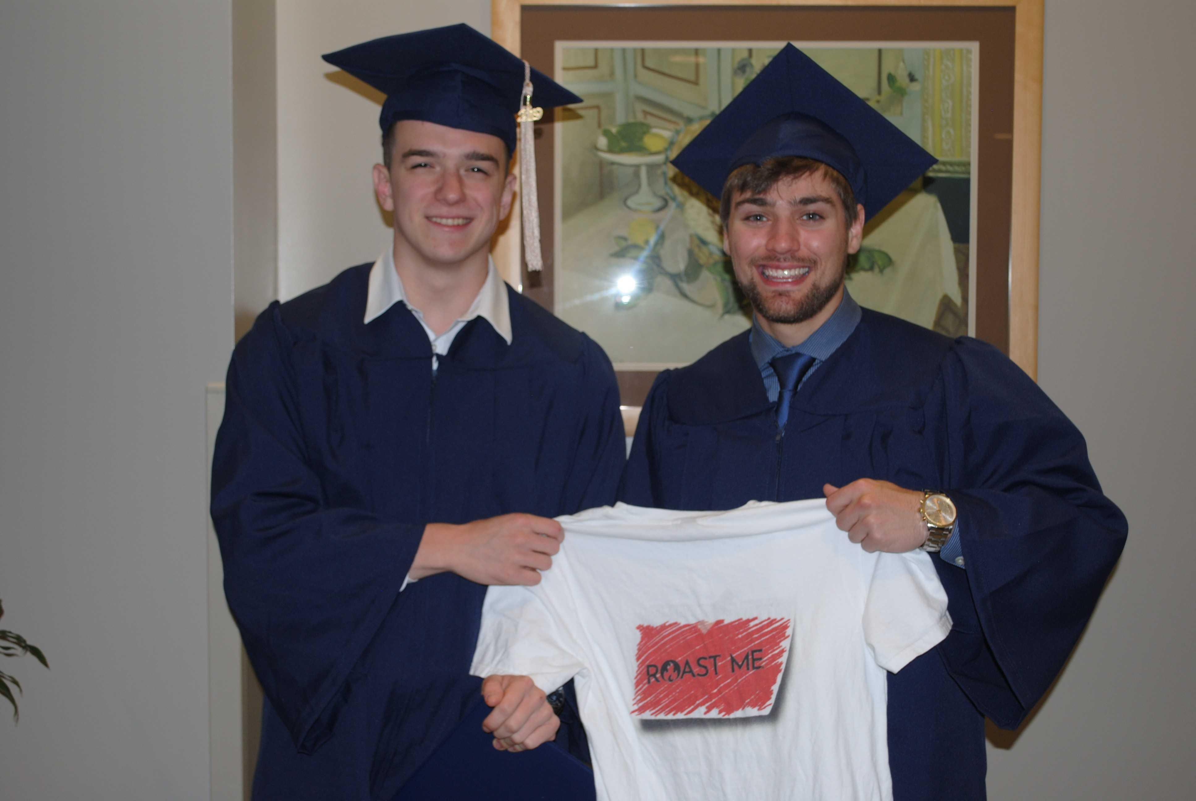 Roast Me graduates