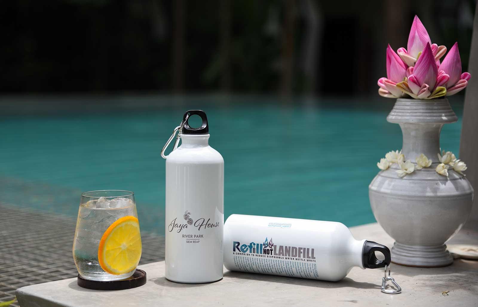Refill Not Landfiill bottles
