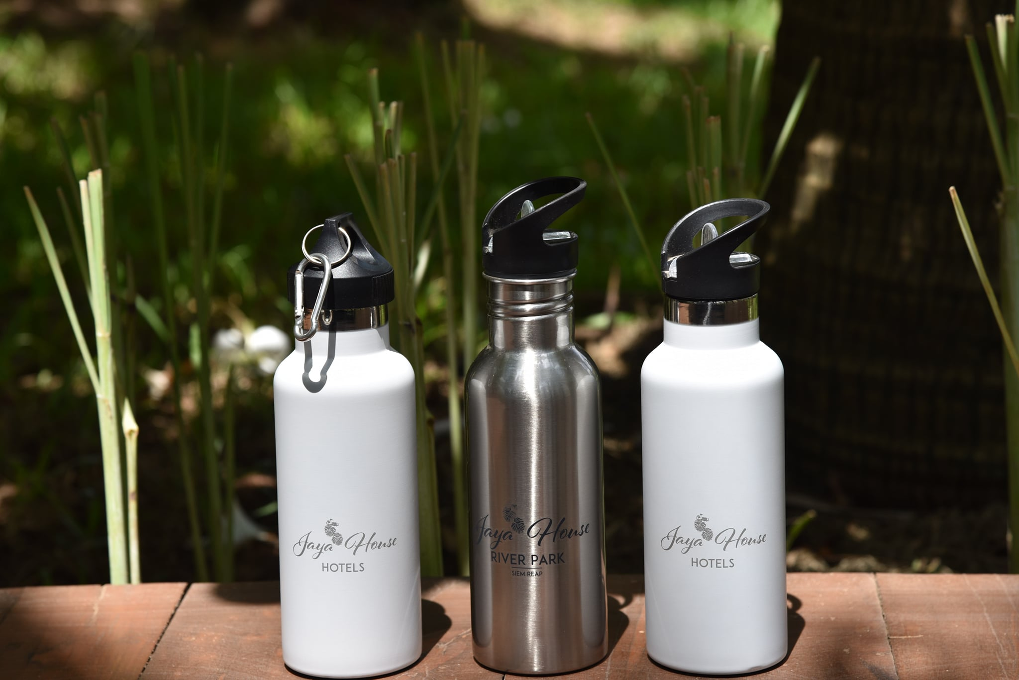 Refillable Water Bottles from Jaya House