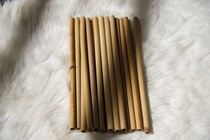 Bamboo Drinking Straws from Jaya House