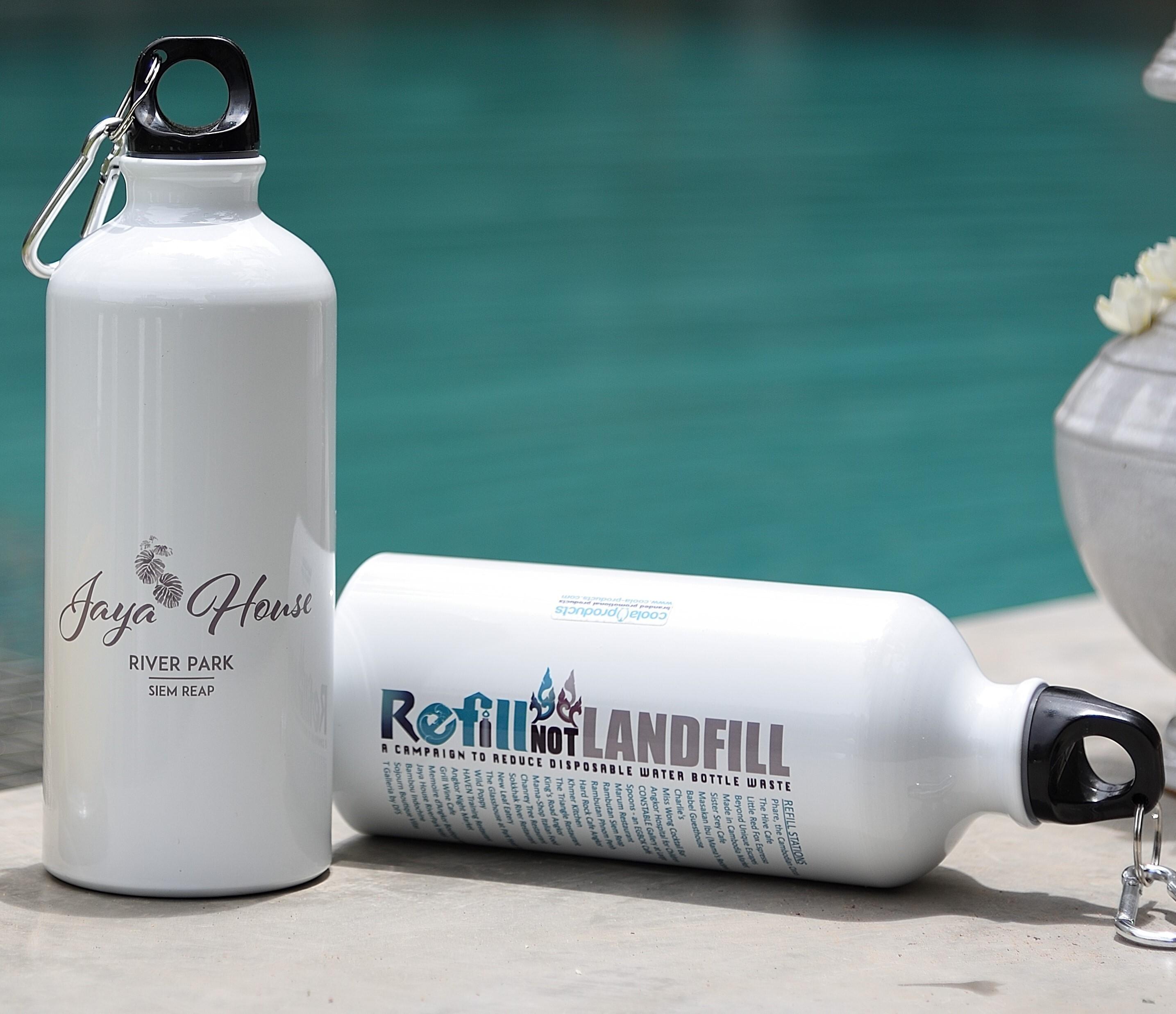 Jaya House Plastic Free Refill Bottles