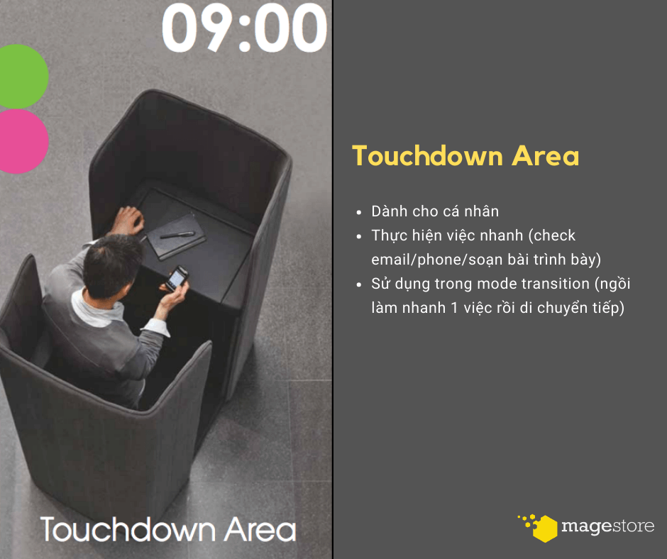 agile office touchdown
