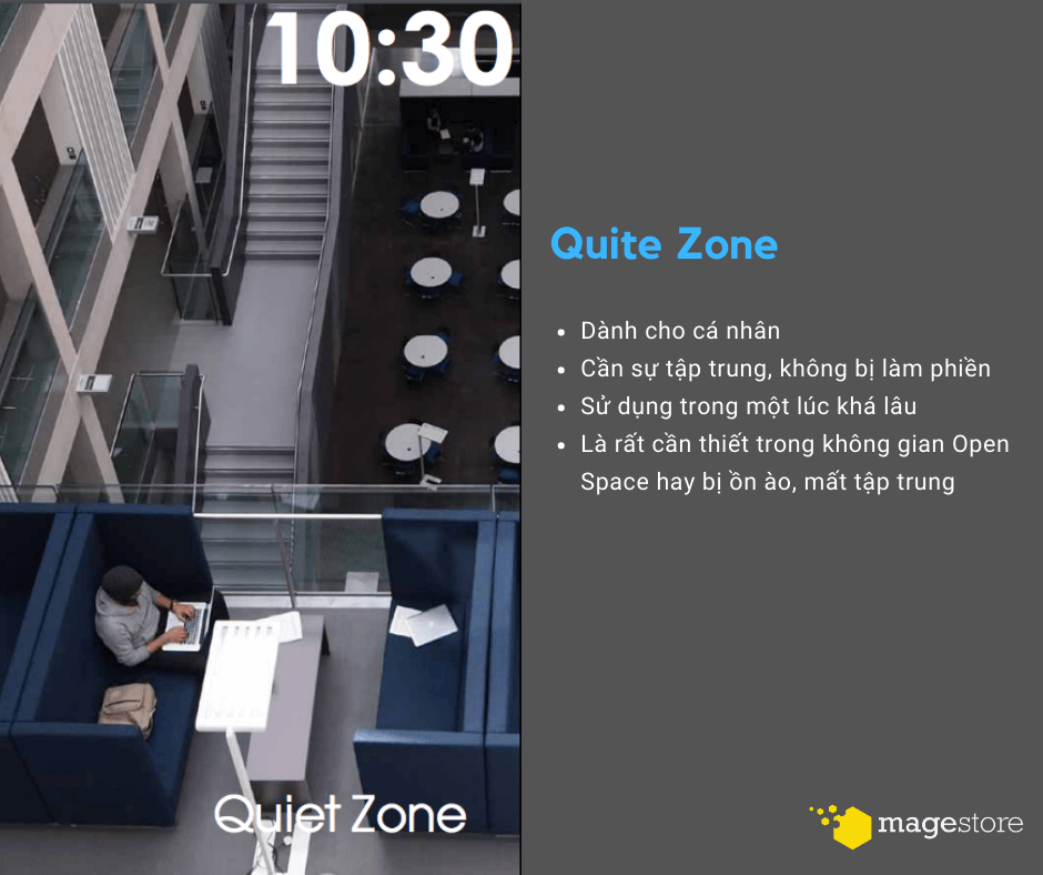 agile office quite zone