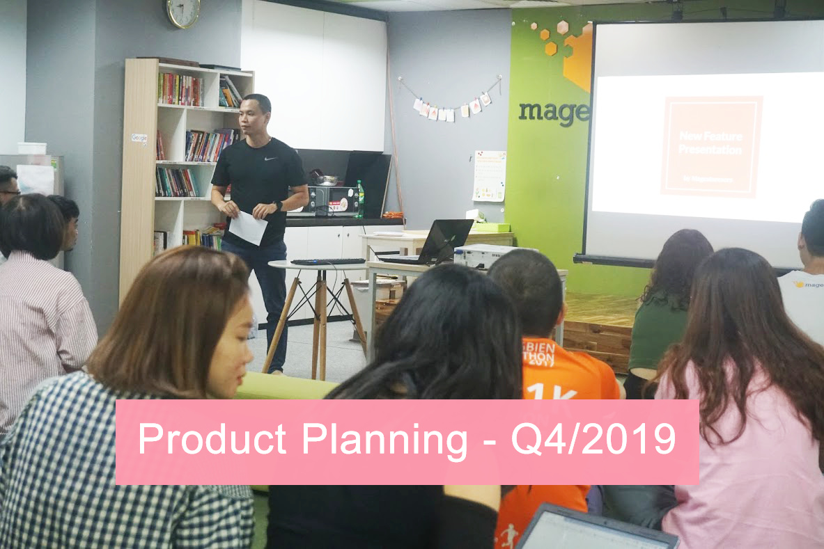 Magestore Product Planning Workshop