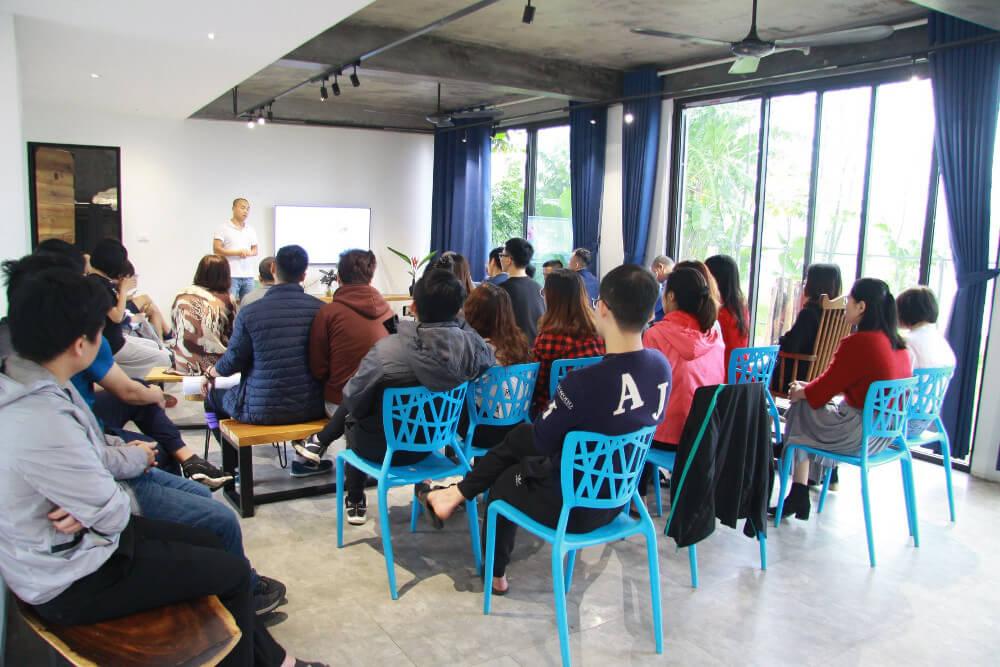 Thực hành Project Management trong tổ chức dã ngoại 40 người