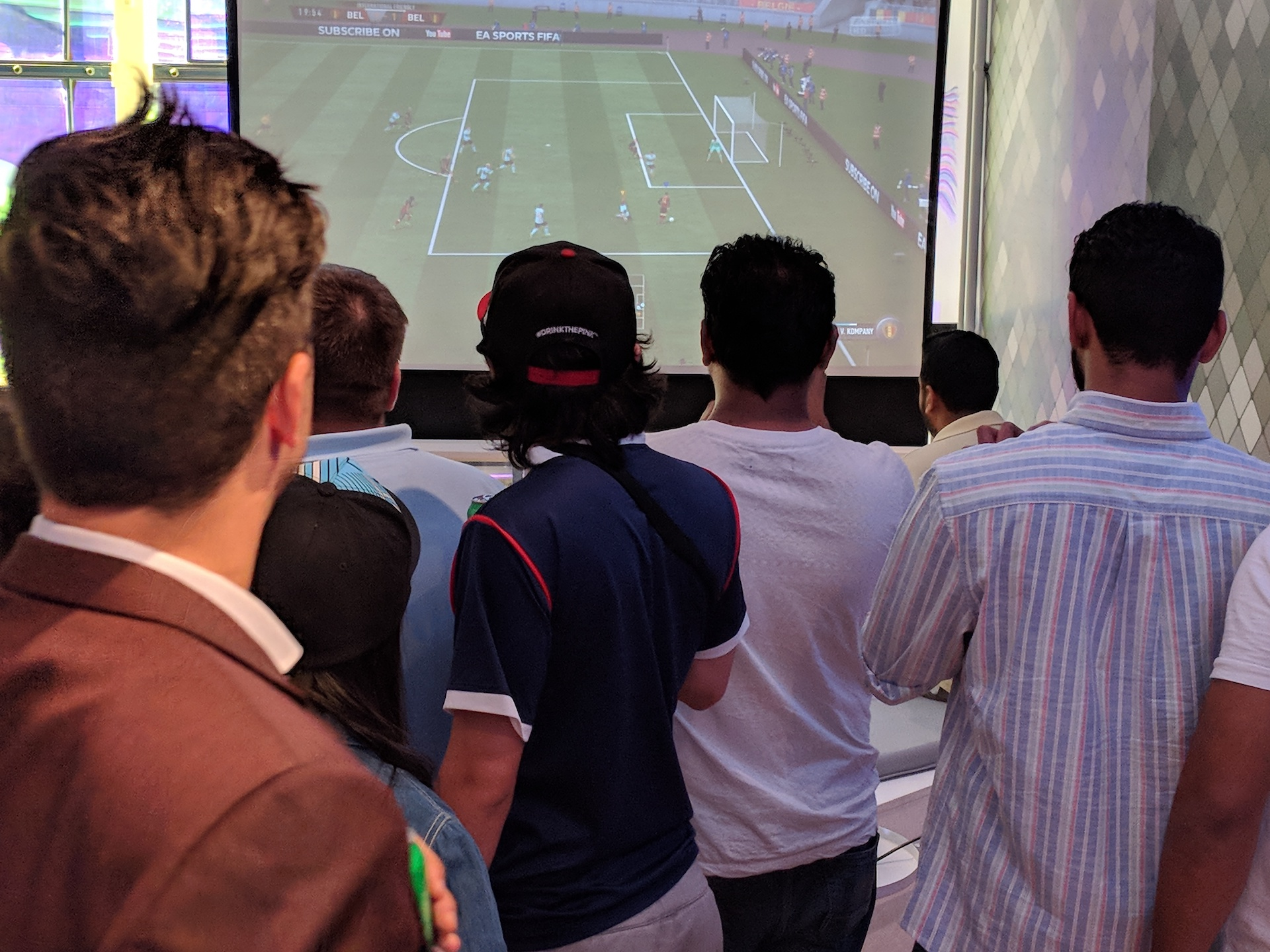 FanBattle Fifa event
