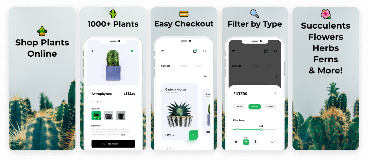 Vibrant Ecommerce App Screenshot Template