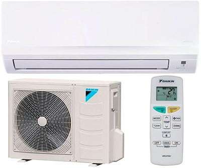 Akce na klimatizaci: DAIKIN FTXB25C + RXB25C, 22453 Kč bez DPH, včetně montáže