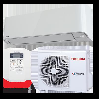 Akce na klimatizaci: Toshiba – Mirai RAS-10BKV-E + RAS-10BAV-E, 24613 Kč bez DPH, včetně montáže