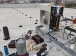 Servis a montáž klimatizace-výrobní hala