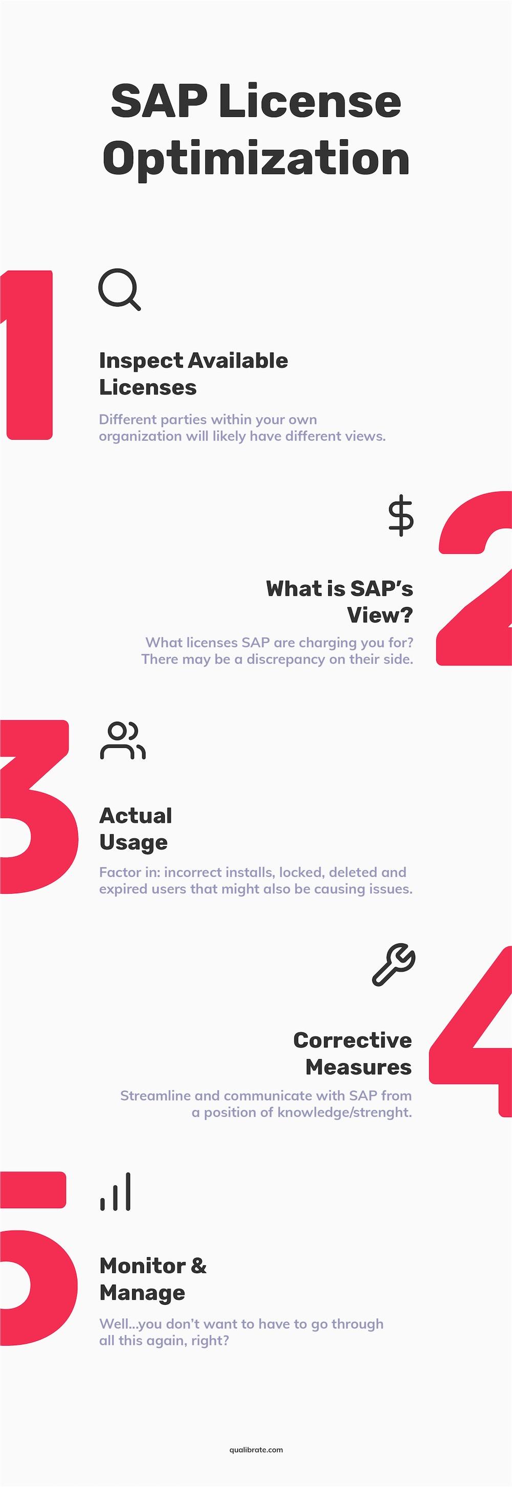 SAP license optimization