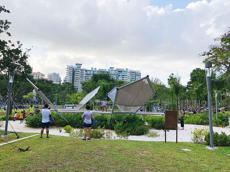 Jubilee Park - Climbing nets