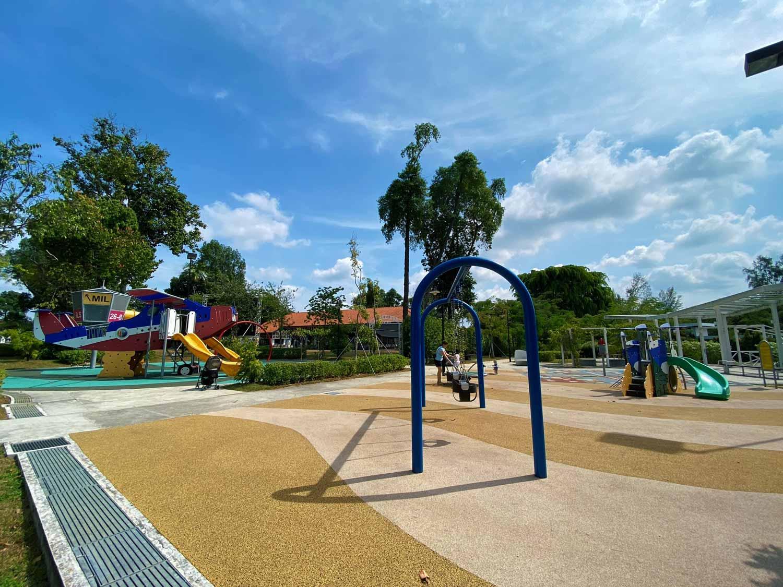 Playground at the Oval@Seletar Aerospace Park
