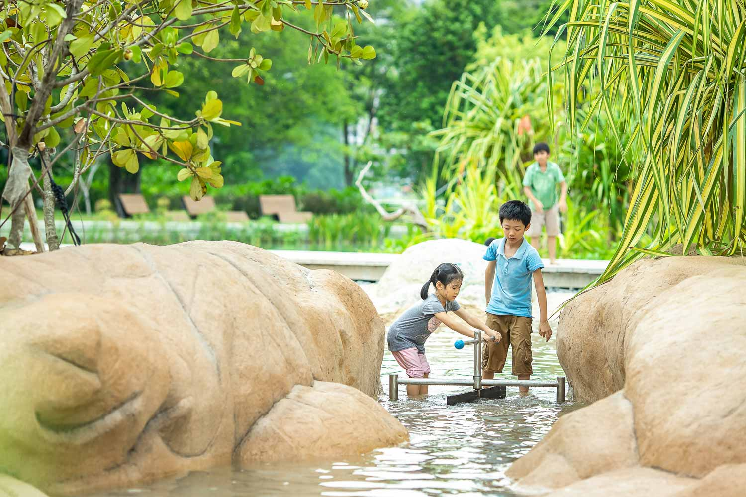 Water Play at Clusia Cove