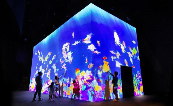 ArtScience Museum - Sketch Aquarium