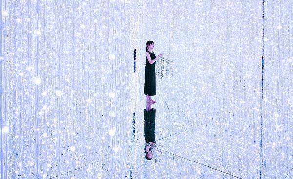 ArtScience Museum - Crystal Universe