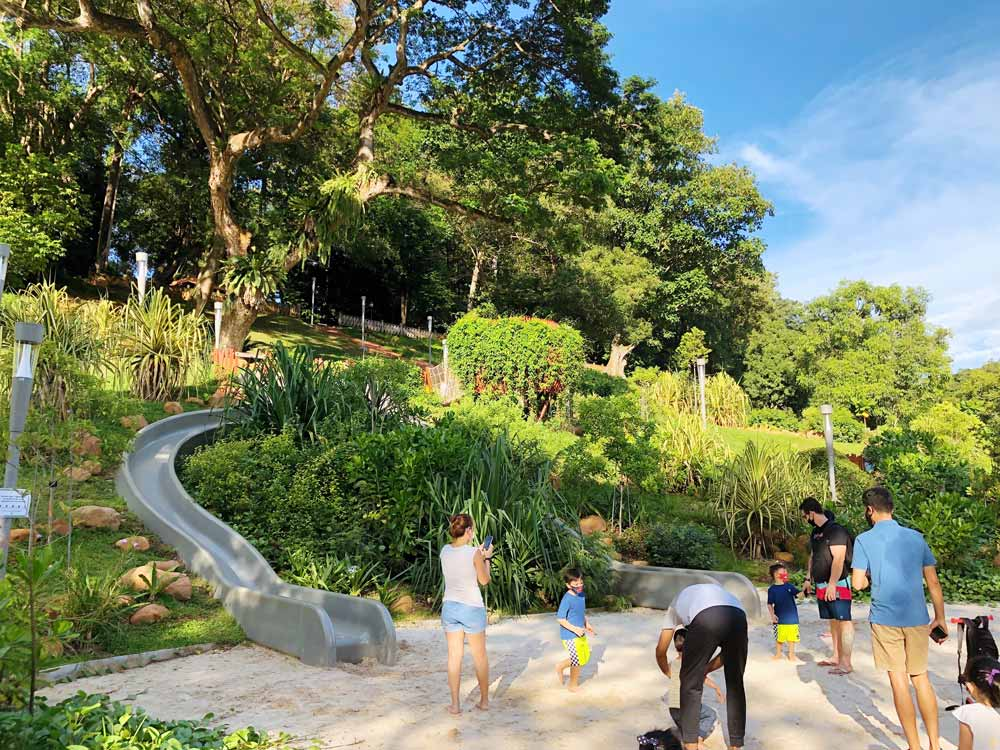 Jubilee Park at Fort Canning
