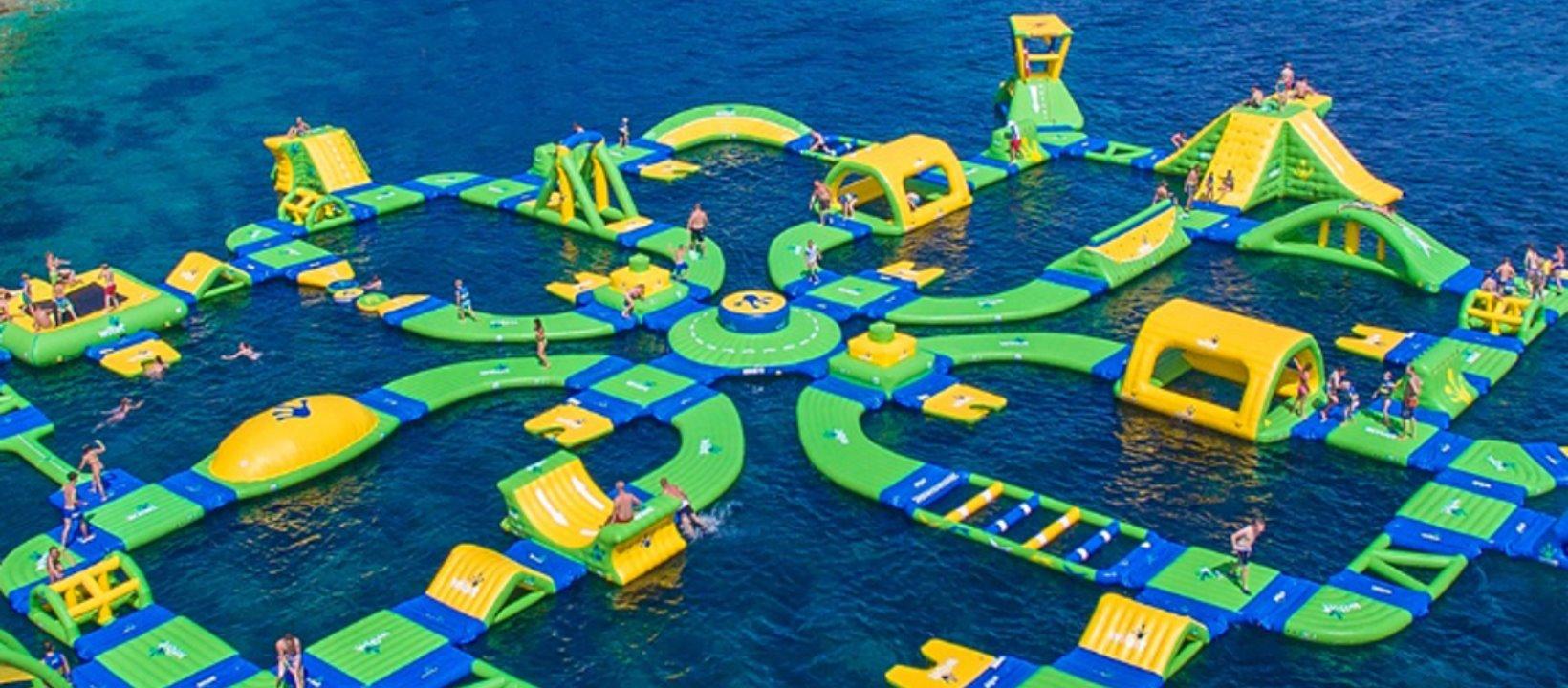HydroDash: A floating aqua park in Sentosa