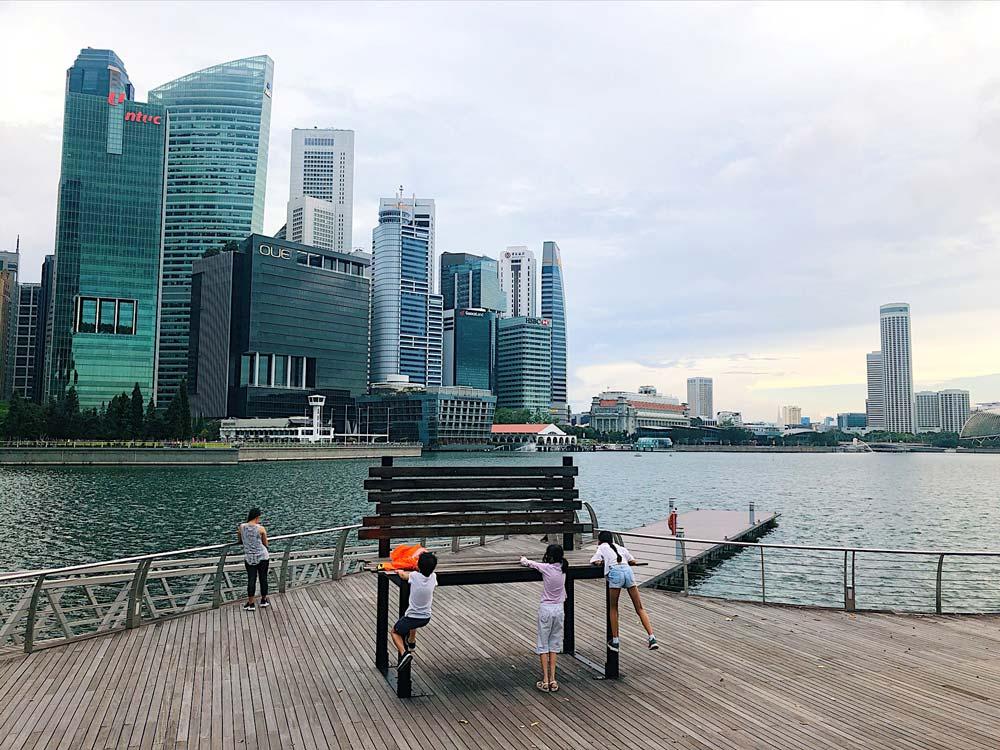 Marina Waterfront Promenade