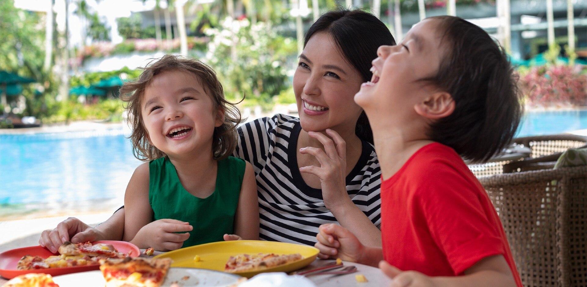 Shangri-La Hotel - Family Fun Staycation Package