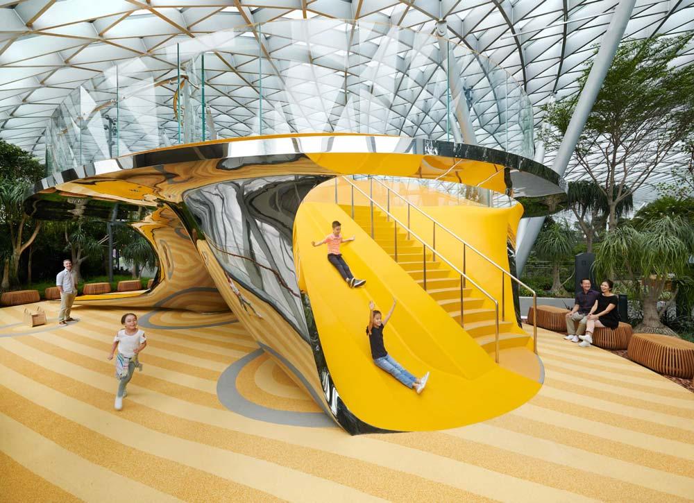 Discovery Slides - Jewel Changi Airport