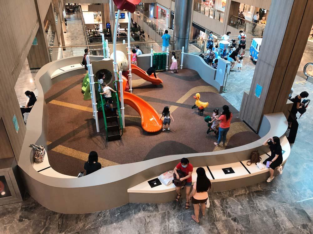 Paragon - Playground on Level 5