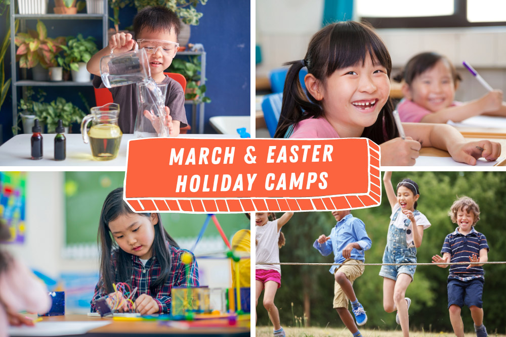 March and Easter School Holiday Camps for Kids in Singapore 2021