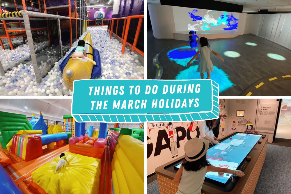 Things to do with kids during the March holidays