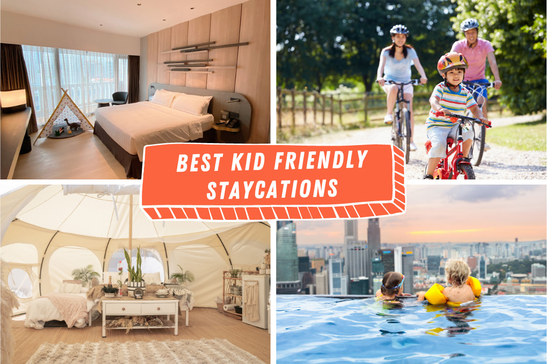 Best family and kid friendly staycations in Singapore (Hotels, glamping, and cruises)