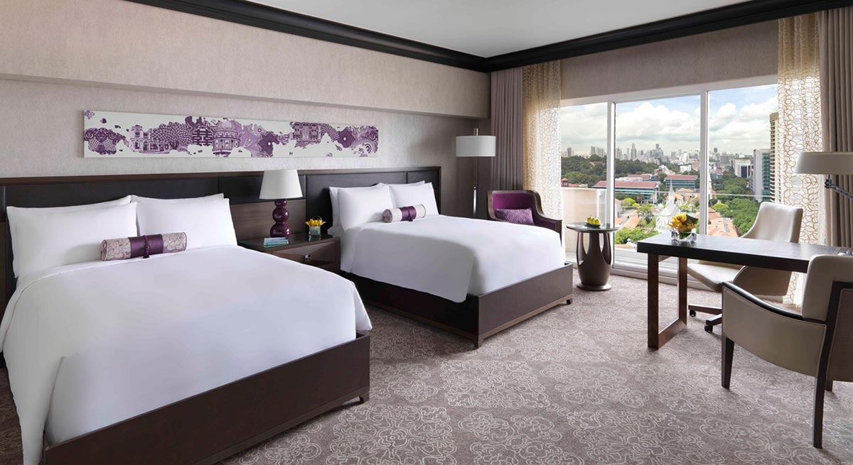 Fairmont Singapore Staycation with Elly Store Disney Tsum Tsum Family Pyamas Set