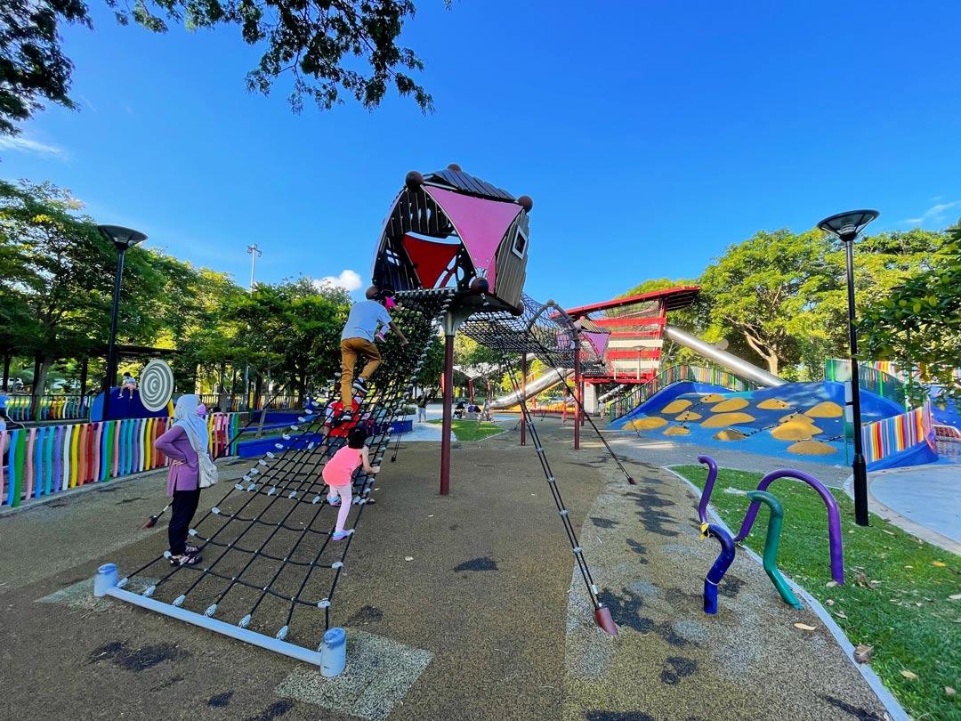 Marine Cove Playground at East Coast Park