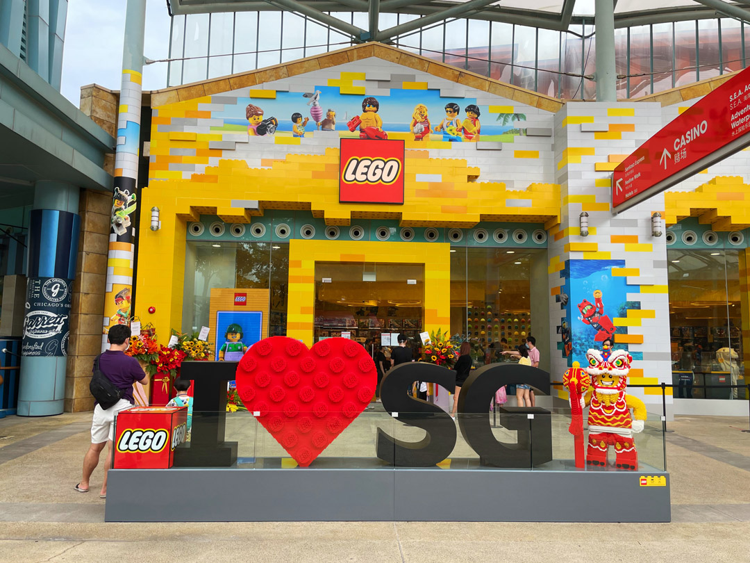 Largest LEGO Certified Store in Southeast Asia opens at Resorts World Sentosa Singapore