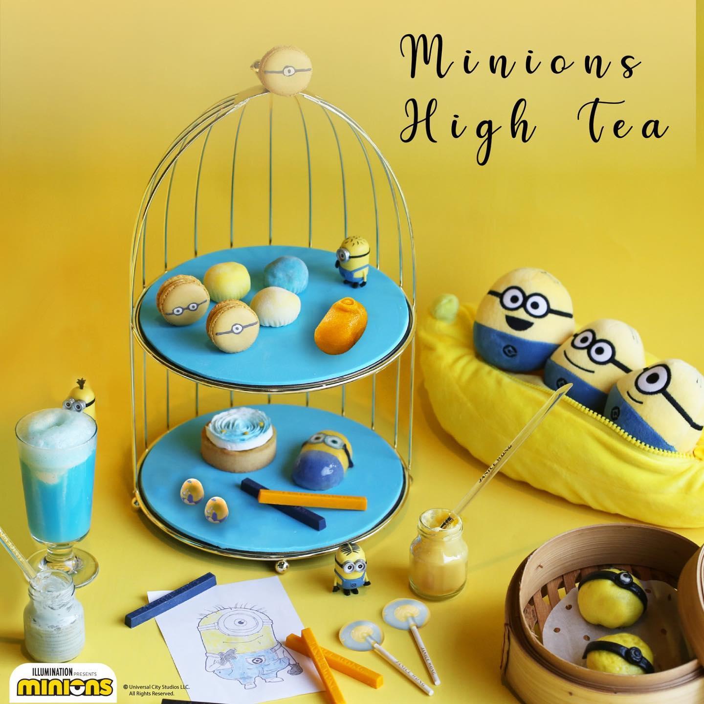 Minions High Tea at 2am : dessertbar