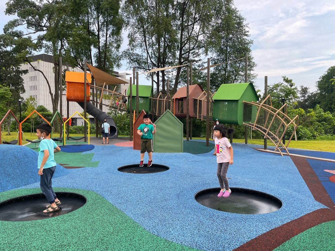 Yishun N8 Park Treehouse Playground