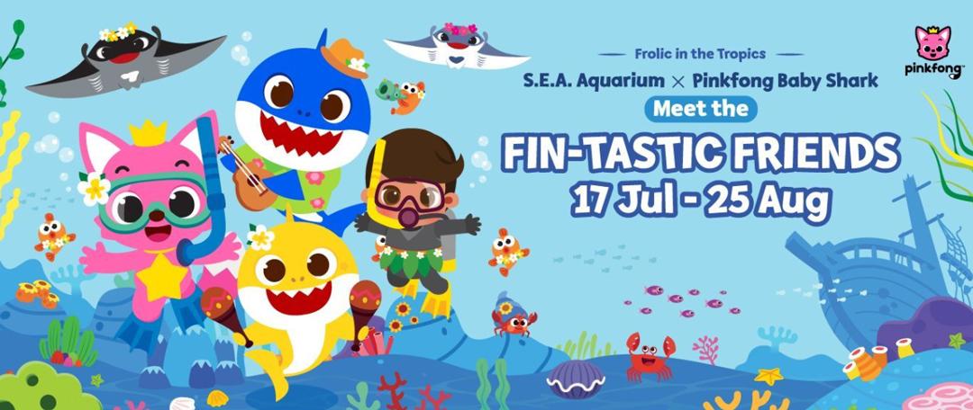 S.E.A. Aquarium X Pinkfong Baby Shark