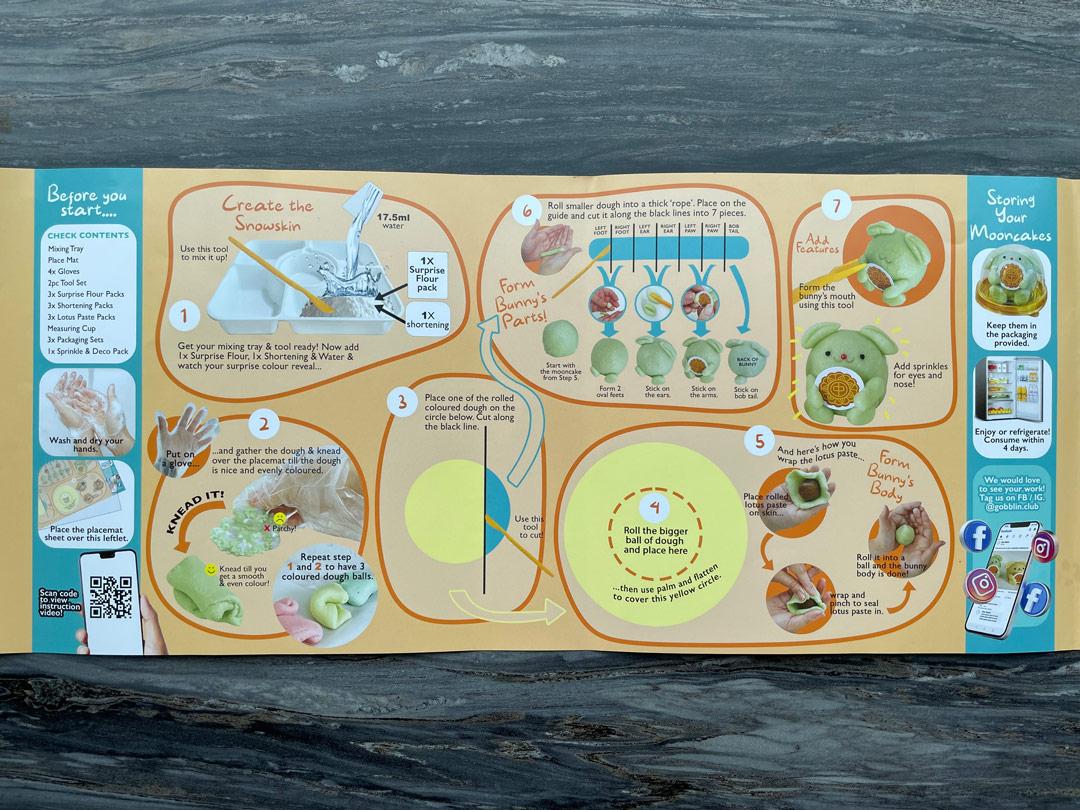Gobblin Moon Bunnies Snowskin Mooncakes DIY Kit