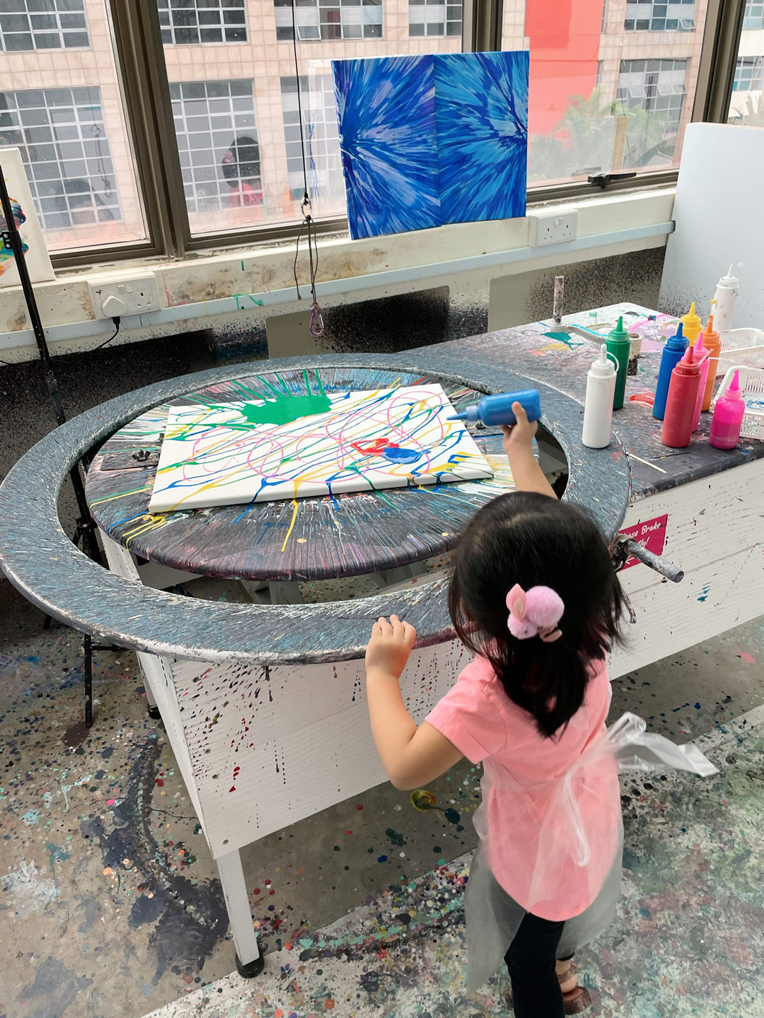 Spin Paint House